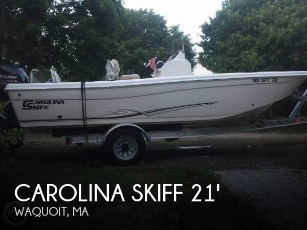 2015 Carolina Skiff 21
