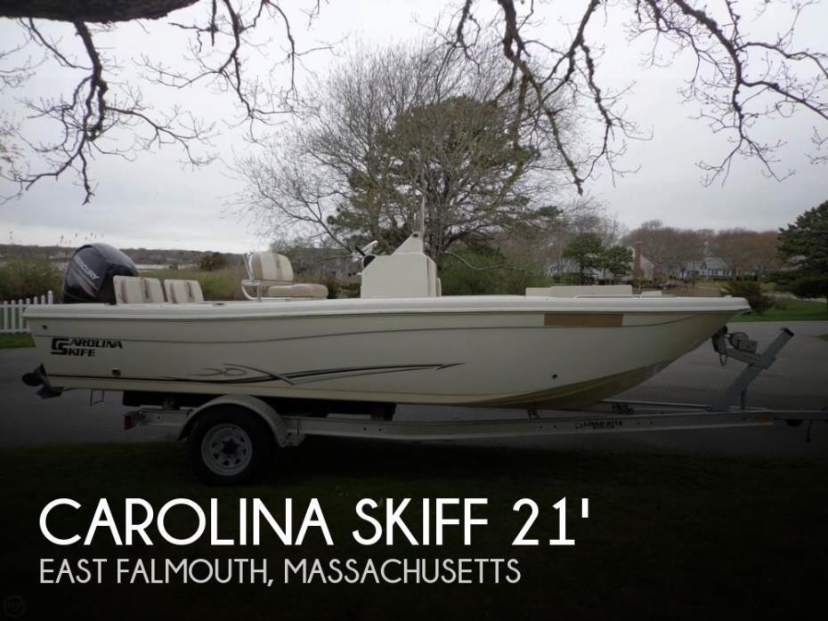 2015 Carolina Skiff 21 Ultra Elite