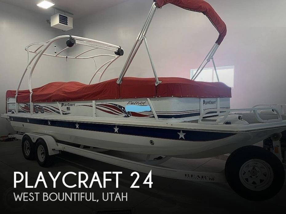 2007 Playcraft Deck Cruiser 24
