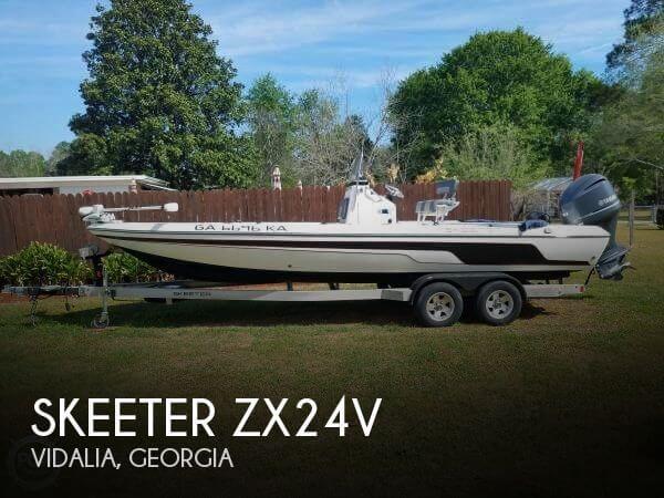 2012 Skeeter ZX24V