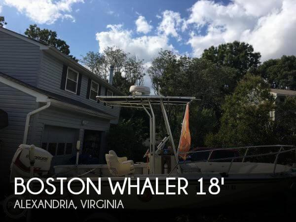 1989 Boston Whaler 18 Outrage
