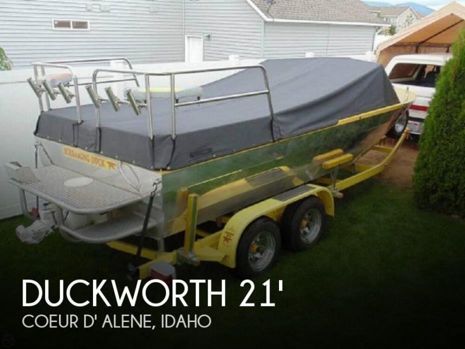 1995 Duckworth Advantage 21 Custom