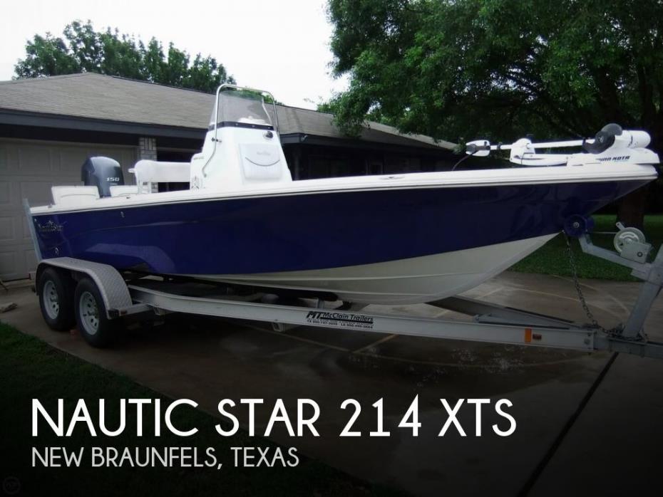 2014 NauticStar 214 XTS