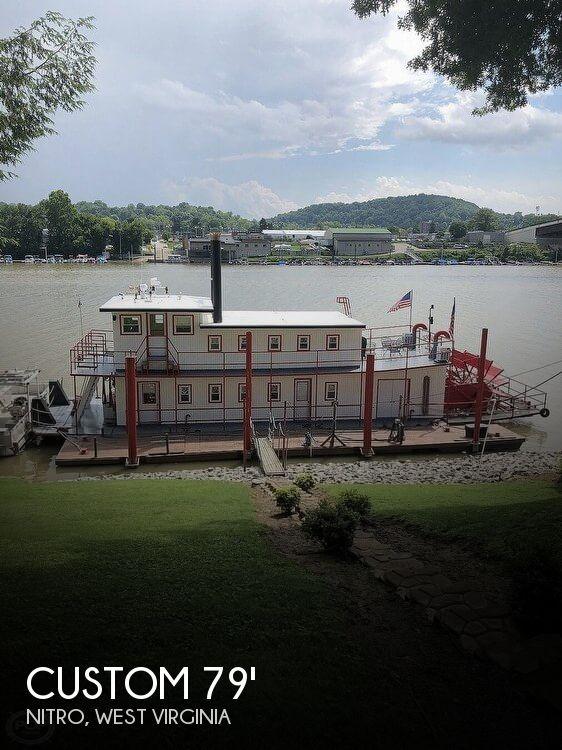 2001 Custom 79 Sternwheel Paddleboat