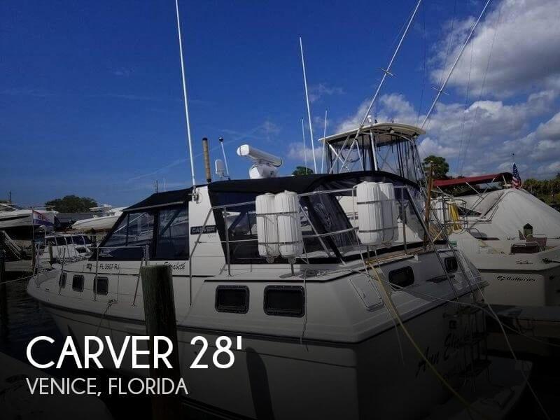 1986 Carver Riviera 28 Aft Cabin
