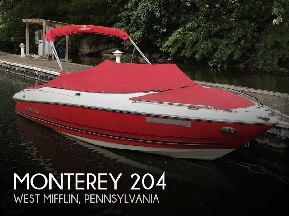 2011 Monterey 204FS Sport Boat