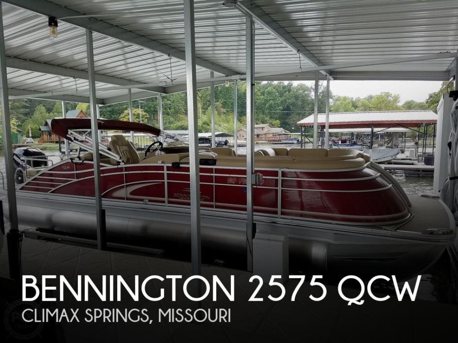2015 Bennington 2575 QCW