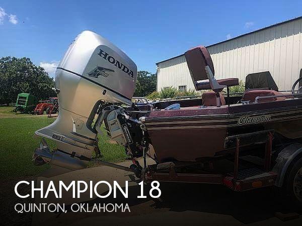 1989 Champion 18 DCR