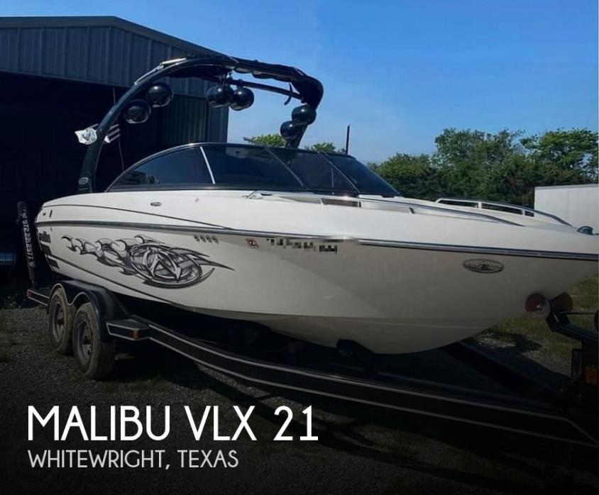 2007 Malibu Wakesetter VLX 21
