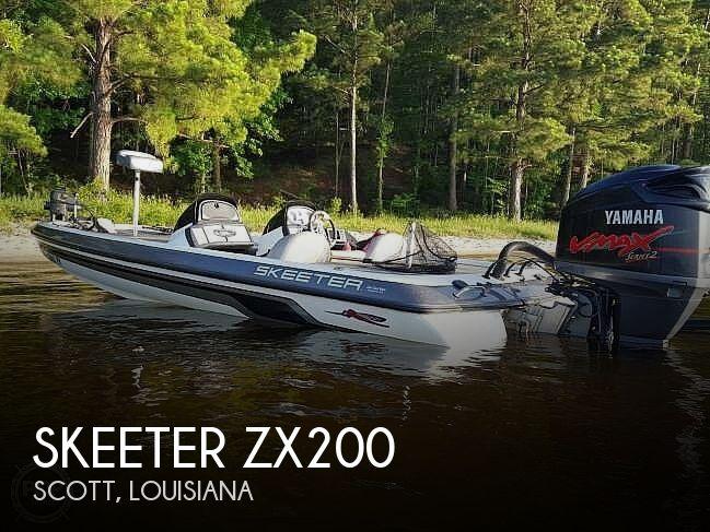 2008 Skeeter Zx200