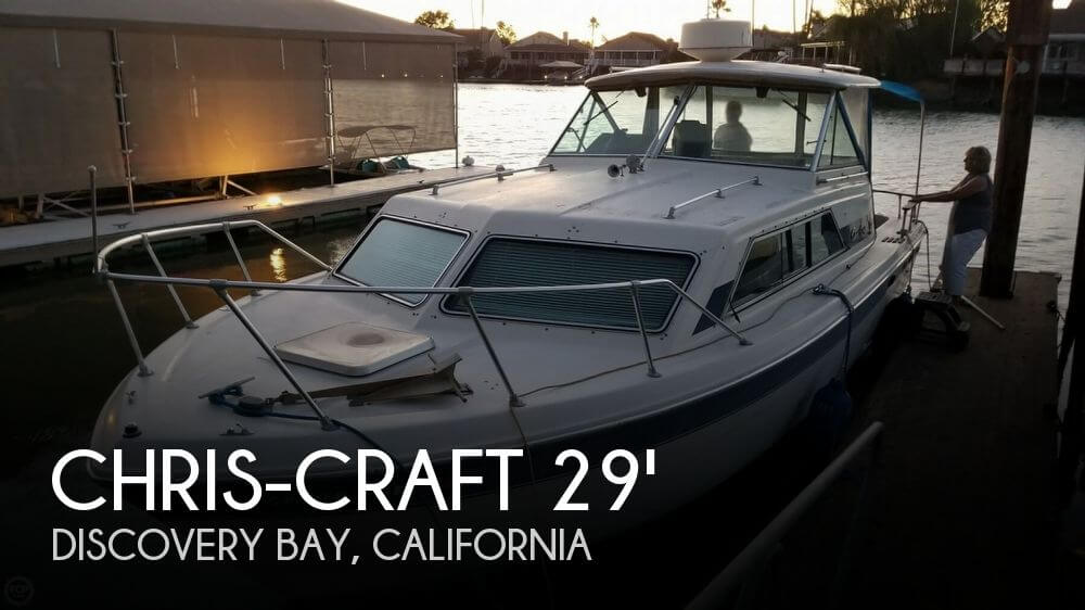 1984 Chris-Craft Catalina 281