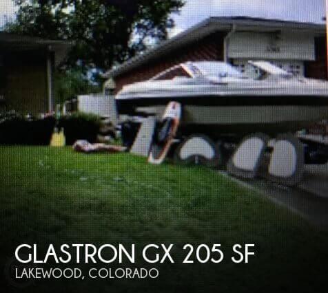 2001 Glastron GX 205 SF