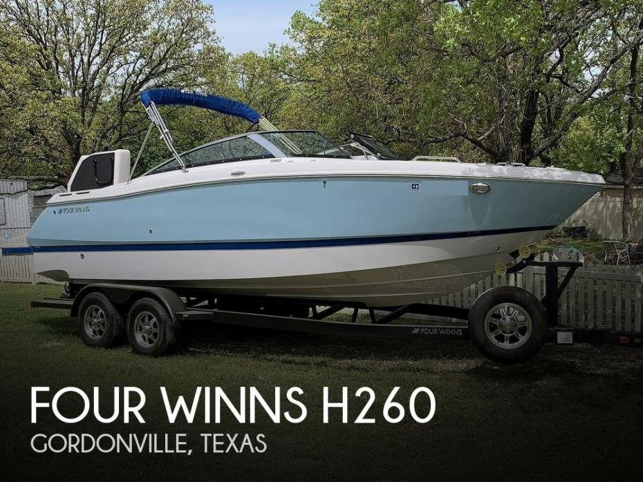 2018 Four Winns H260