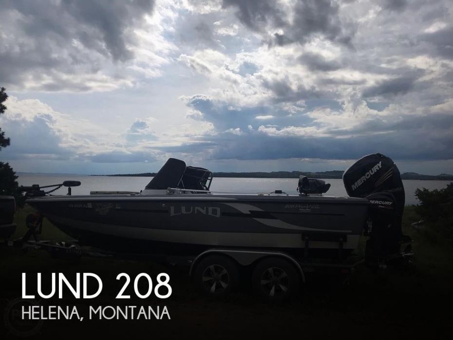 2013 Lund Pro V 208 GL
