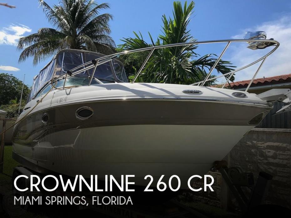 2015 Crownline 260 CR