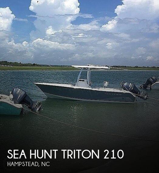 2014 Sea Hunt Triton 210