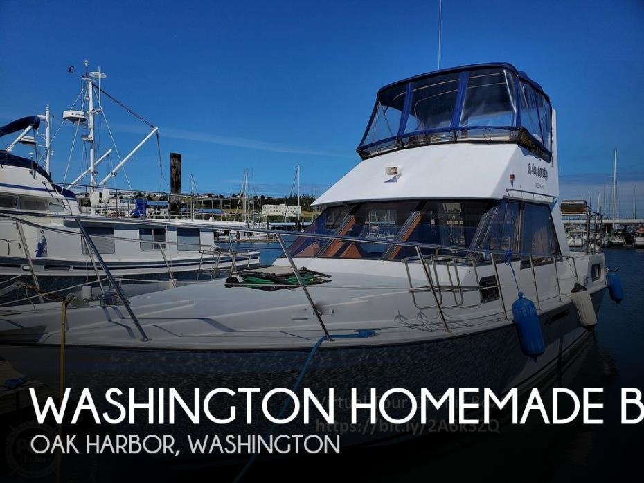1990 Washington Homemade Boats Canfor Wave Runner 37'