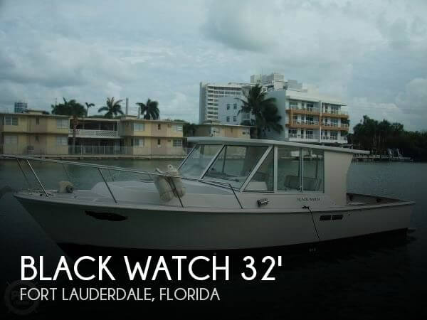 1986 Black Watch 30 Open Fisherman