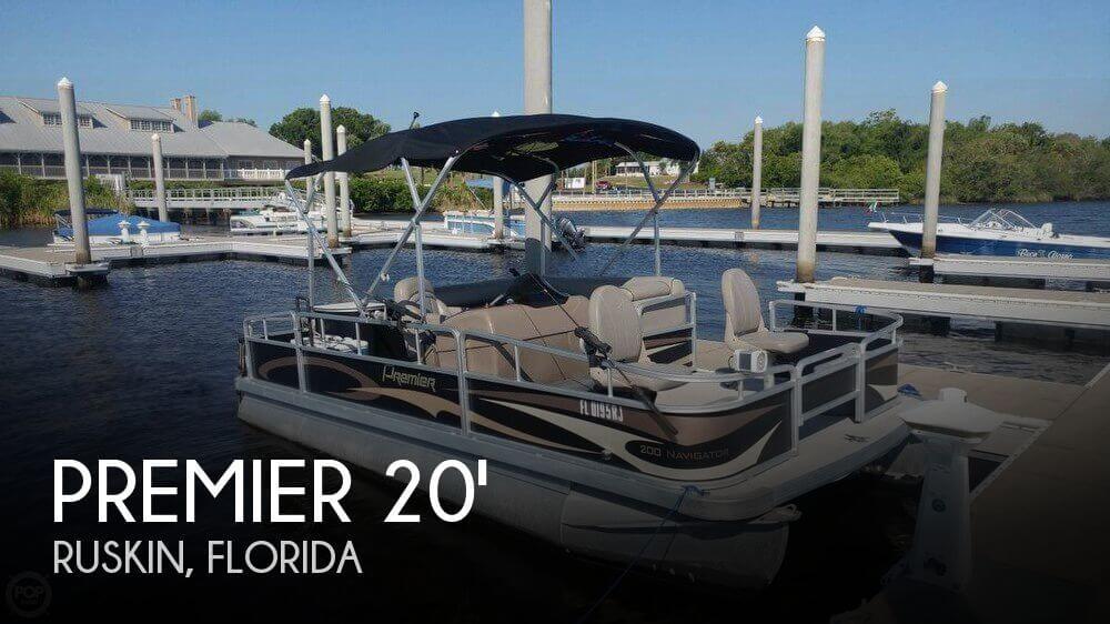 2014 Premier Pontoons 200 Navigator
