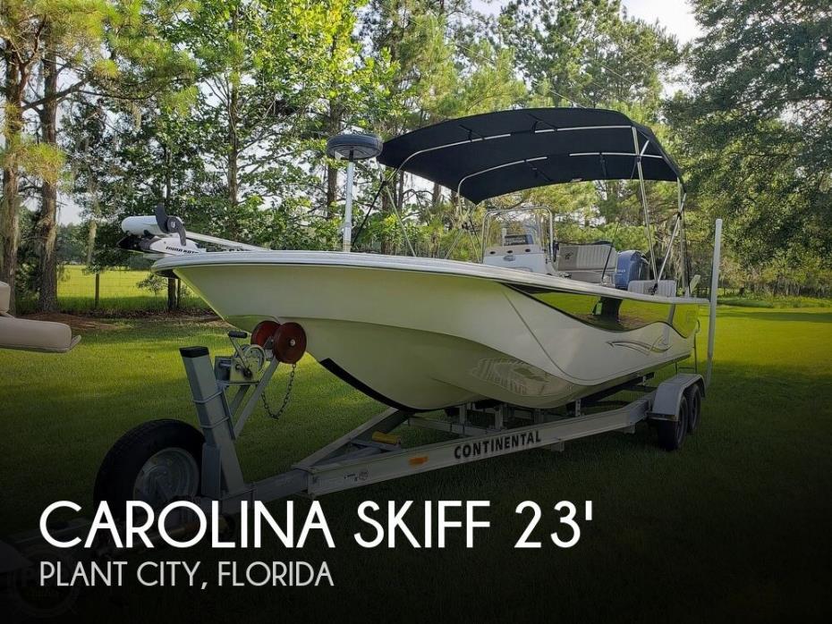 2016 Carolina Skiff DLV 238