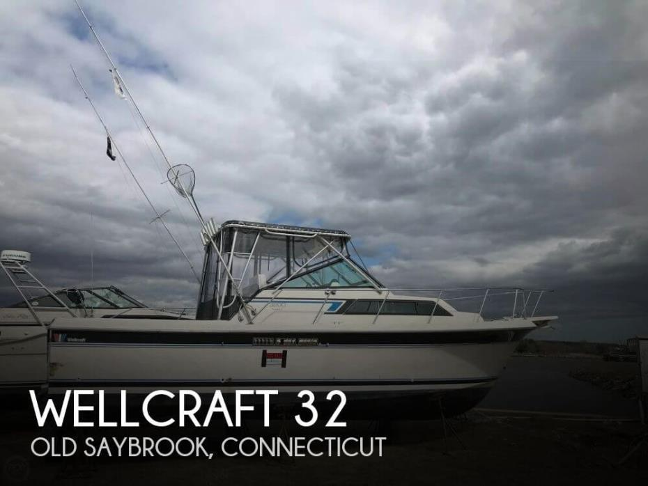 1987 Wellcraft 3200 Coastal