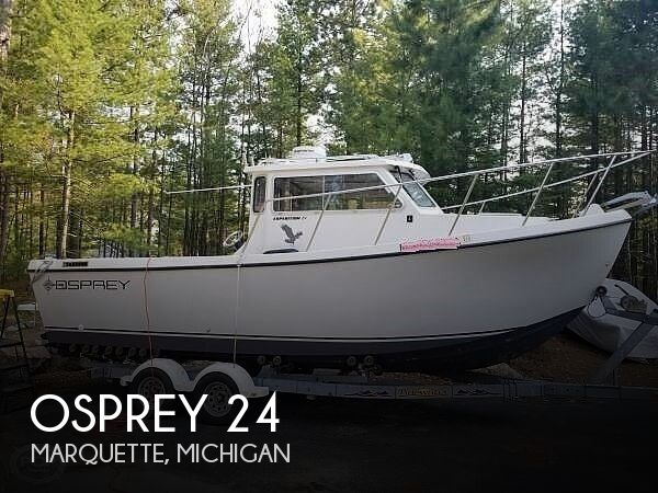 2004 Osprey Pilothouse 24 Expedition