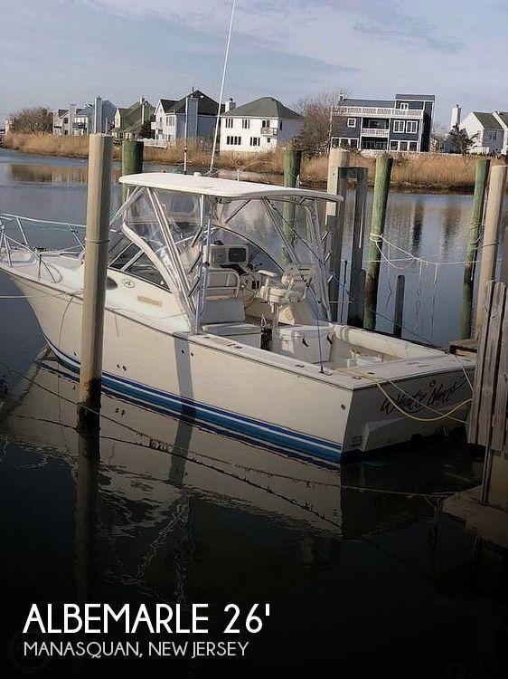 2003 Albemarle 268 Express Fisherman