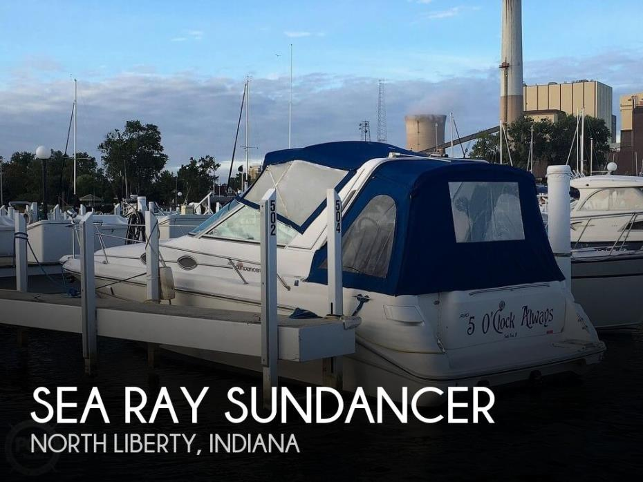 1996 Sea Ray 290 Sundancer