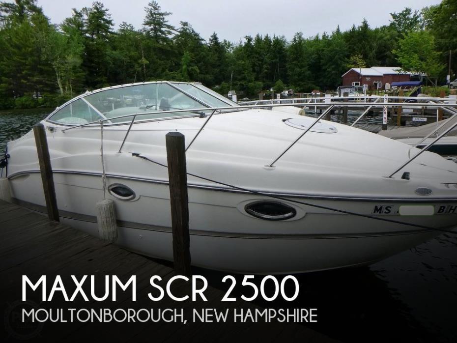 2001 Maxum SCR 2500