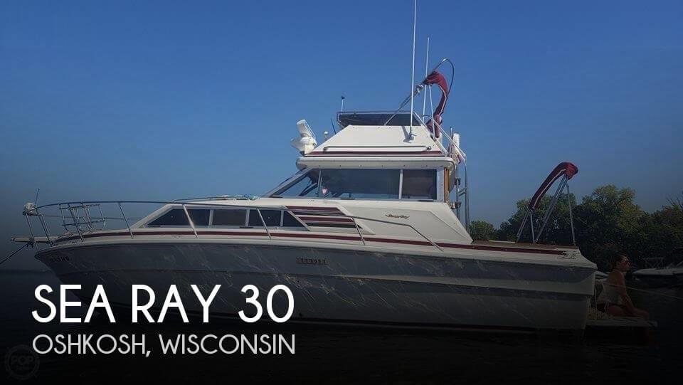 1978 Sea Ray 300 Sedan Bridge