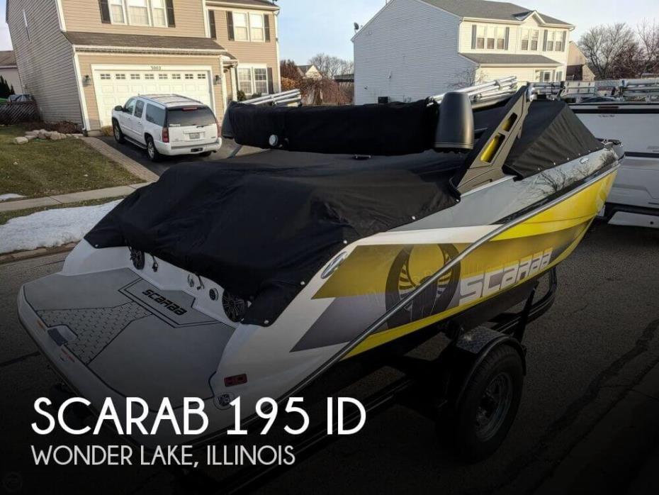 2018 Scarab 195 ID