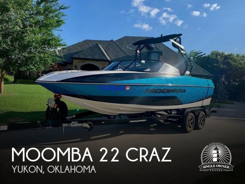 2018 Moomba 22 Craz