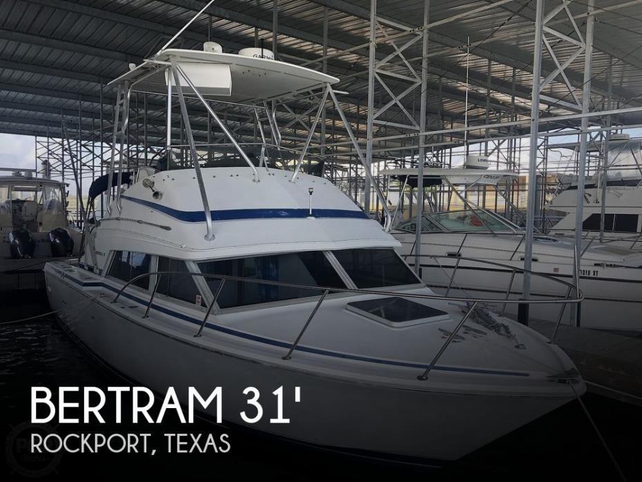 1984 Bertram Flybridge Cruiser