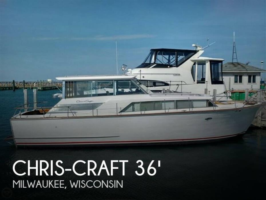 1966 Chris-Craft Constellation Hard Top