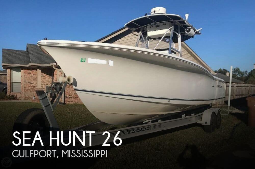 2009 Sea Hunt 26