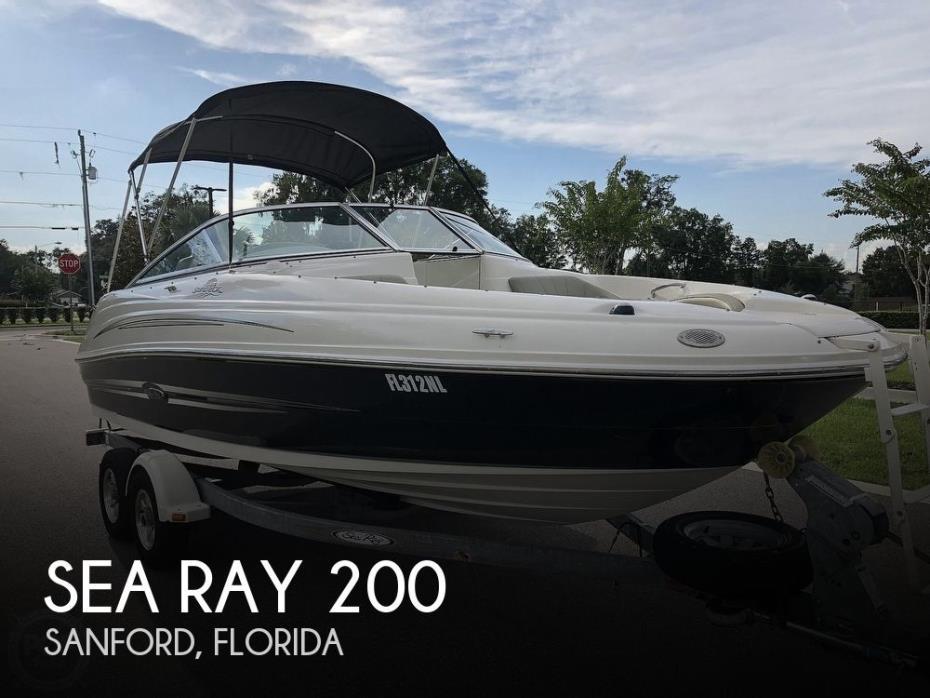 2007 Sea Ray Sundeck 200SD