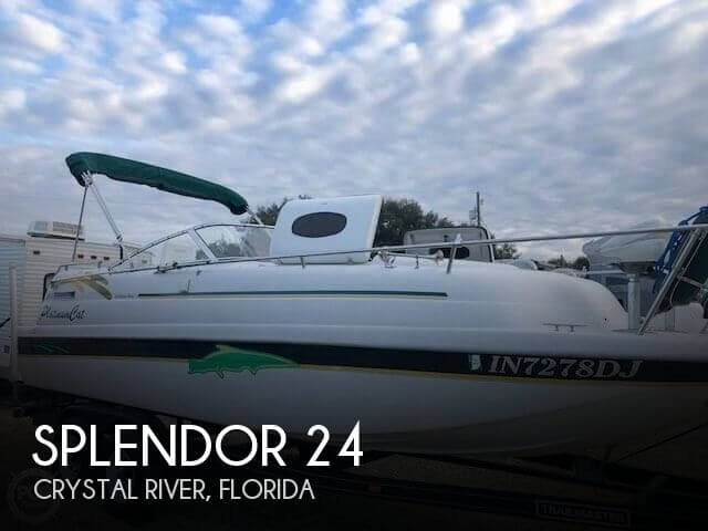 1997 Splendor 240 cuddy cabin