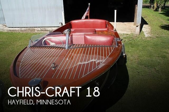 1947 Chris-Craft Utility 18
