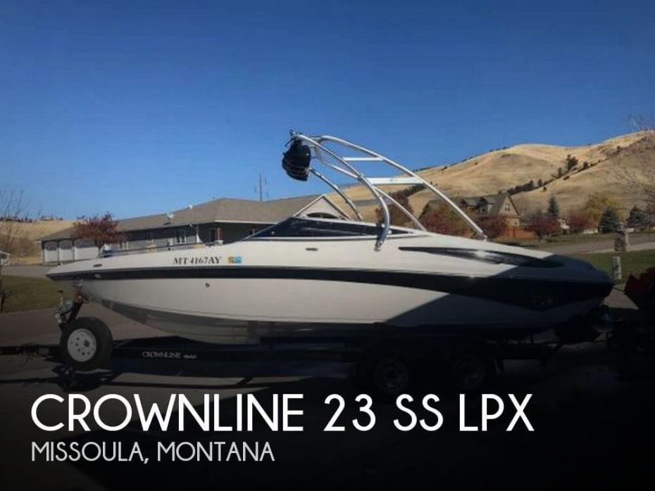 2008 Crownline 23 SS LPX