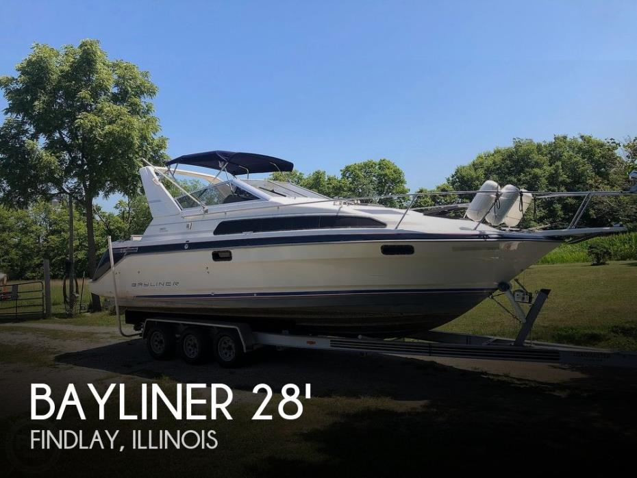 1991 Bayliner 2885 Sunbridge
