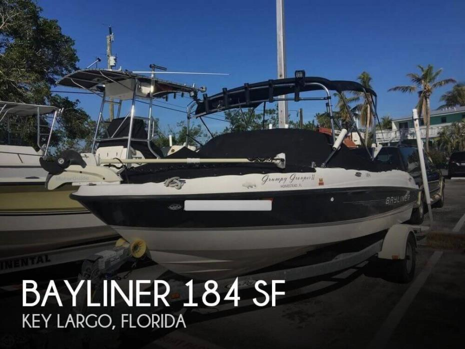 2011 Bayliner 184 SF