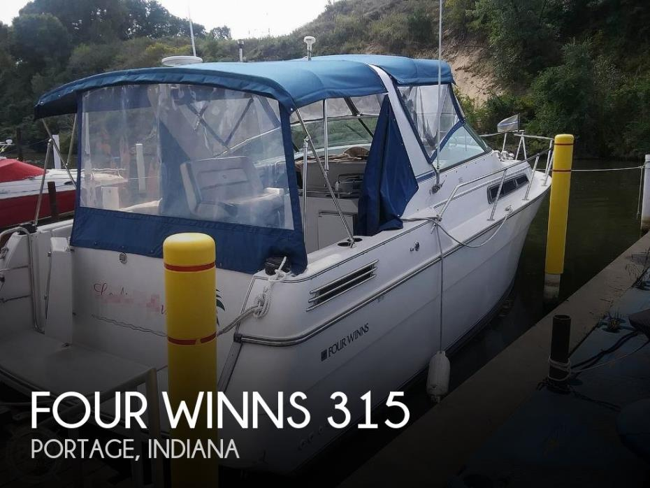 1992 Four Winns 315 Express
