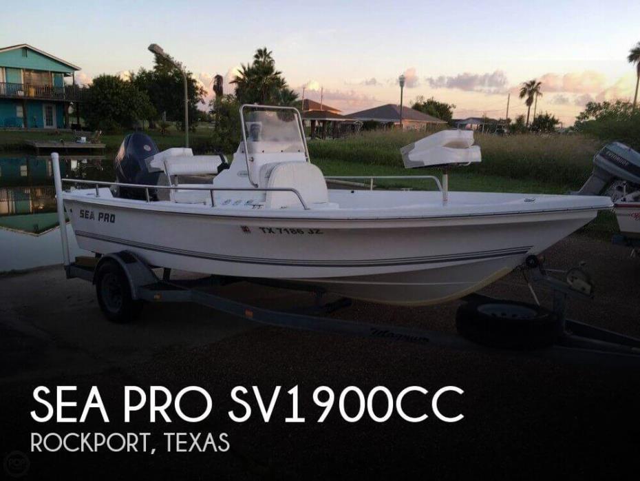 2003 Sea Pro SV1900CC