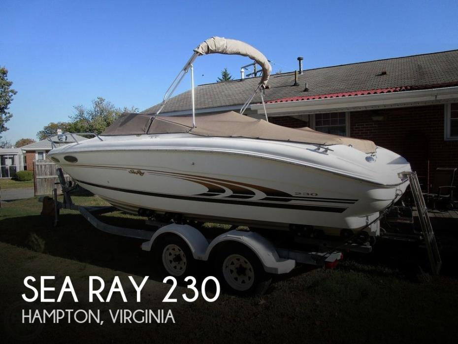 1997 Sea Ray 230 Signiture