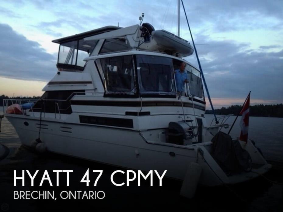 1993 Hyatt 47 CPMY