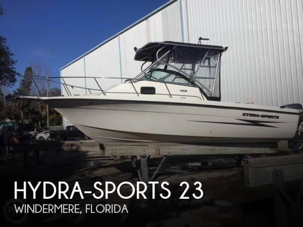 2002 Hydra-Sports 230 WA