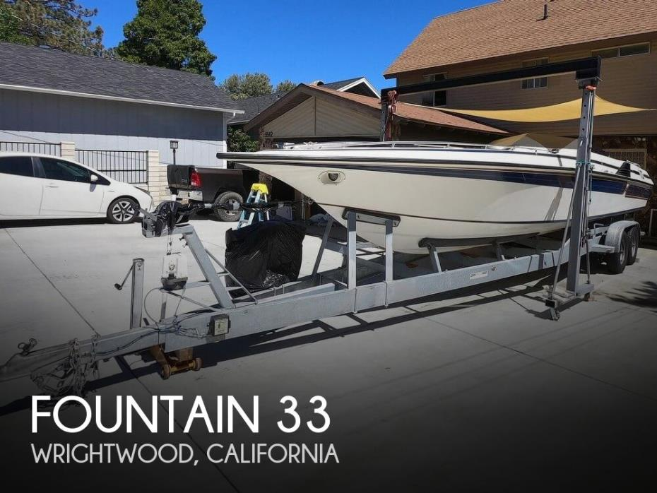 1983 Fountain 33 Sport Boat