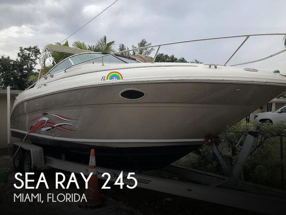 2002 Sea Ray 245 Weekender