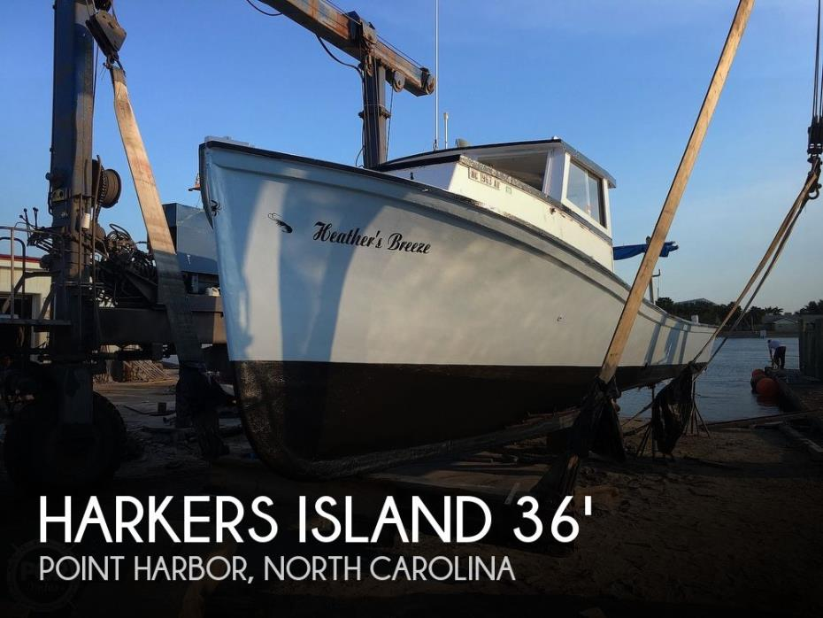 1981 Harkers Island 36 Work Boat