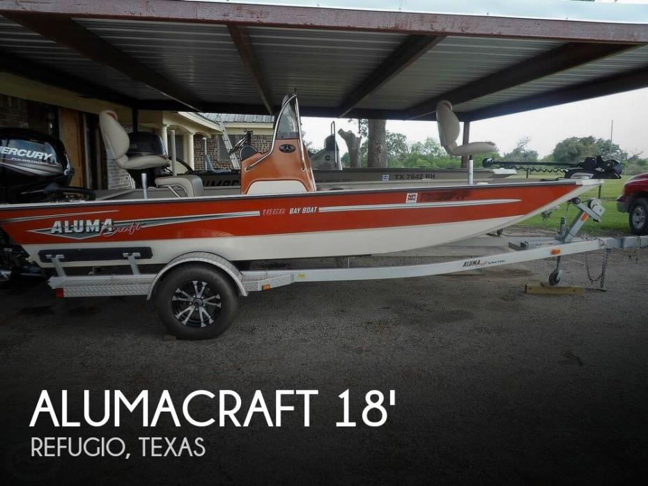 2017 Alumacraft 1860 Bay Boat